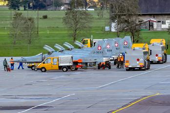 J-3033 - Switzerland - Air Force - Airport Overview - Apron