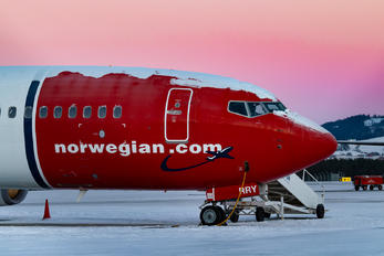 SE-RRY - Norwegian Air Sweden Boeing 737-800