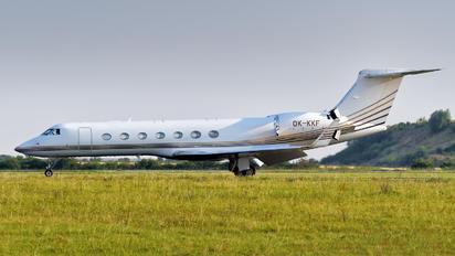 OK-KKF - Private Gulfstream Aerospace G-V, G-V-SP, G500, G550