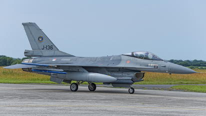 J-136 - Netherlands - Air Force General Dynamics F-16AM Fighting Falcon