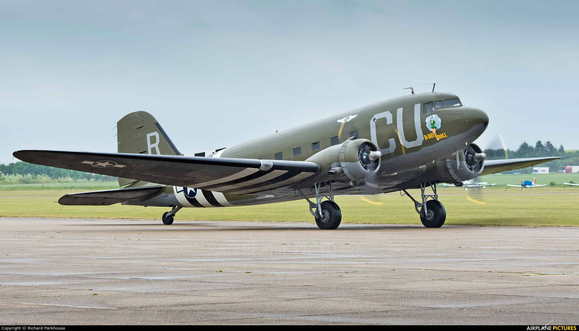 American Airpower Heritage Museum (CAF) N45366 aircraft at Duxford