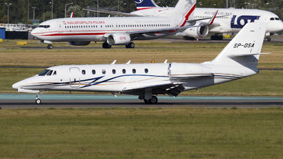 SP-OSA - Private Cessna 680 Sovereign