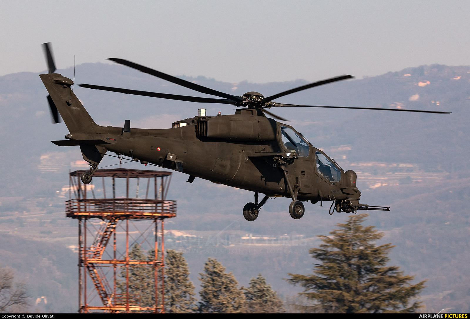 Italy - Army MM81425 aircraft at Modena