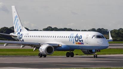 G-FBEI - Flybe Embraer ERJ-195 (190-200)
