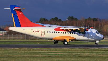 OY-CIR - Danish Air Transport ATR 42 (all models)