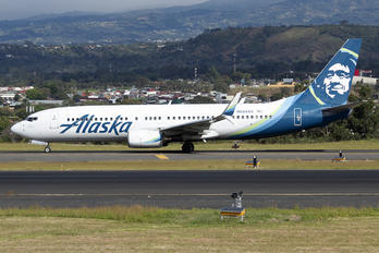 N584AS - Alaska Airlines Boeing 737-800