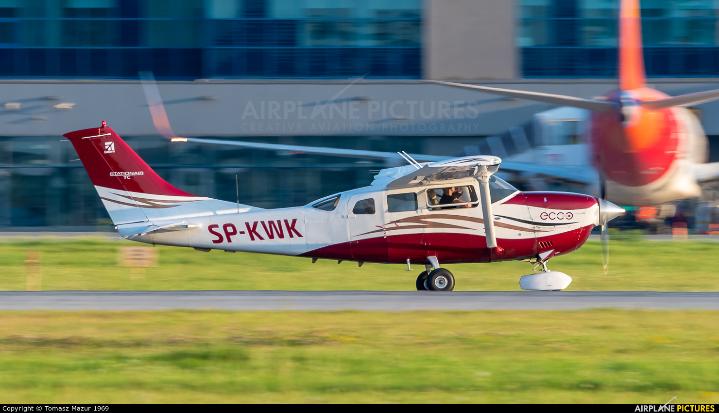 Private SP-KWK aircraft at Katowice - Pyrzowice