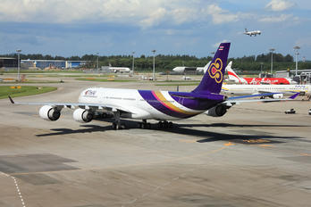 HS-TLB - Thai Airways Airbus A340-500