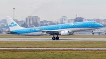 PH-EXB - KLM Cityhopper Embraer ERJ-190 (190-100) aircraft