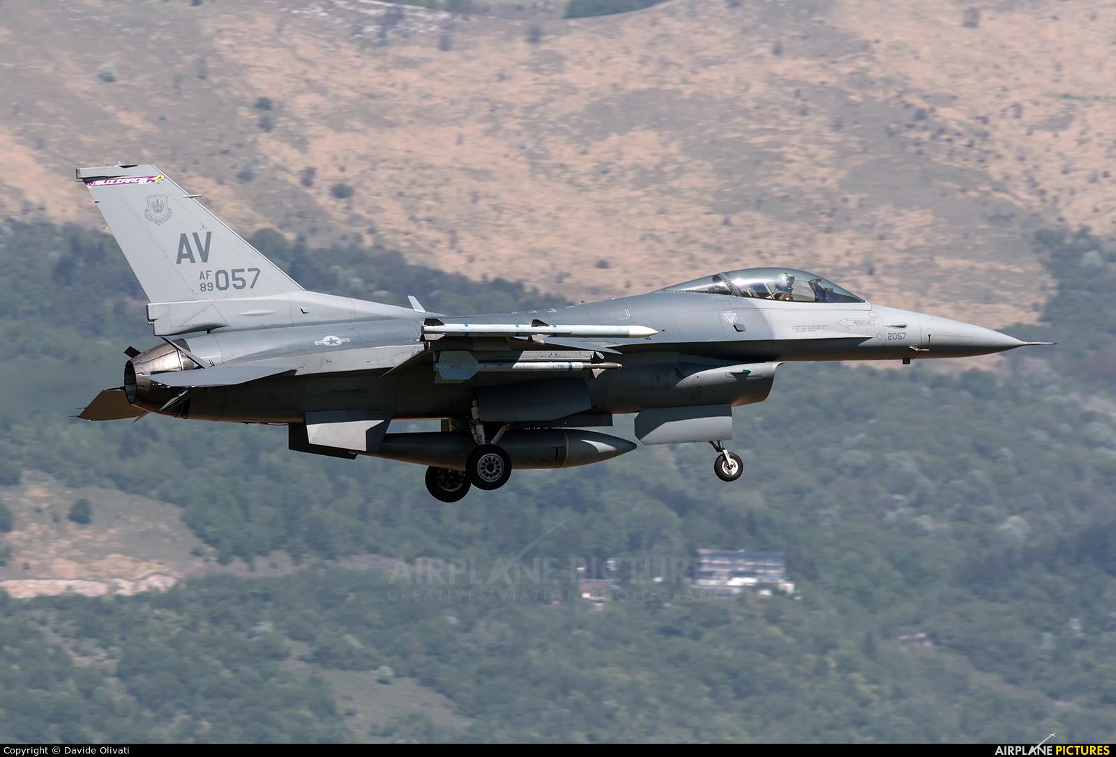 USA - Air Force 88-2057 aircraft at Aviano