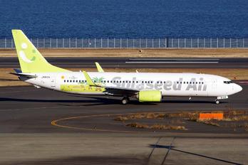 JA812X - Solaseed Air Boeing 737-800