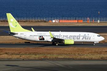 JA805X - Solaseed Air Boeing 737-800