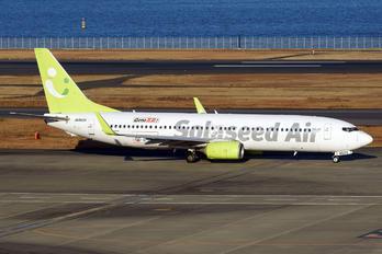 JA802X - Solaseed Air Boeing 737-800