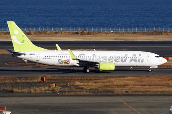 JA803X - Solaseed Air Boeing 737-800
