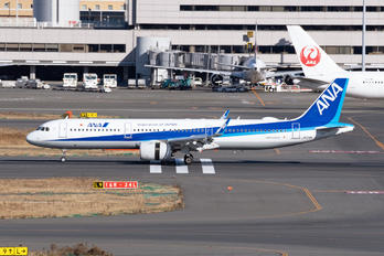 JA134A - ANA - All Nippon Airways Airbus A321 NEO