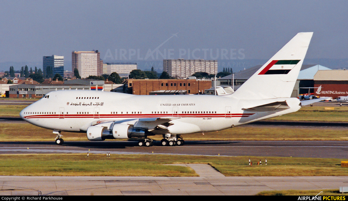 United Arab Emirates - Government A6-SMR aircraft at London - Heathrow