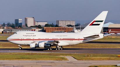 A6-SMR - United Arab Emirates - Government Boeing 747SP