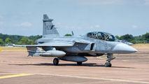 39825 - Sweden - Air Force SAAB JAS 39D Gripen aircraft