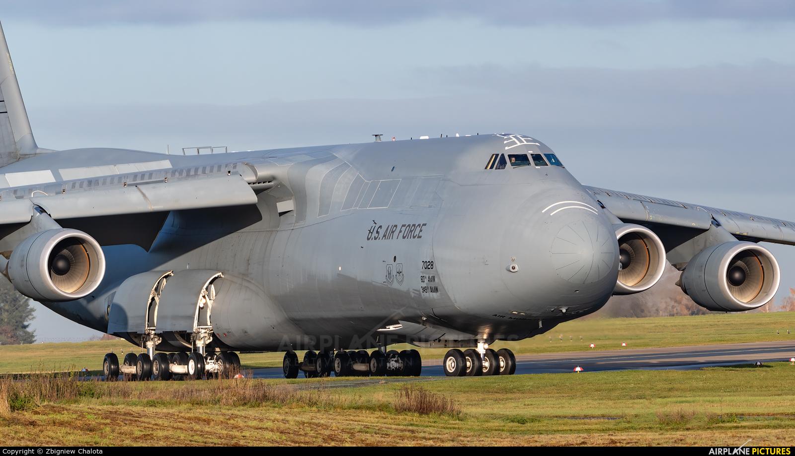 USA - Air Force 87-0028 aircraft at Nuremberg
