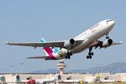 D-AXGA - Eurowings Airbus A330-200 aircraft