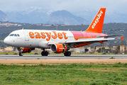 G-EZBF - easyJet Airbus A319 aircraft