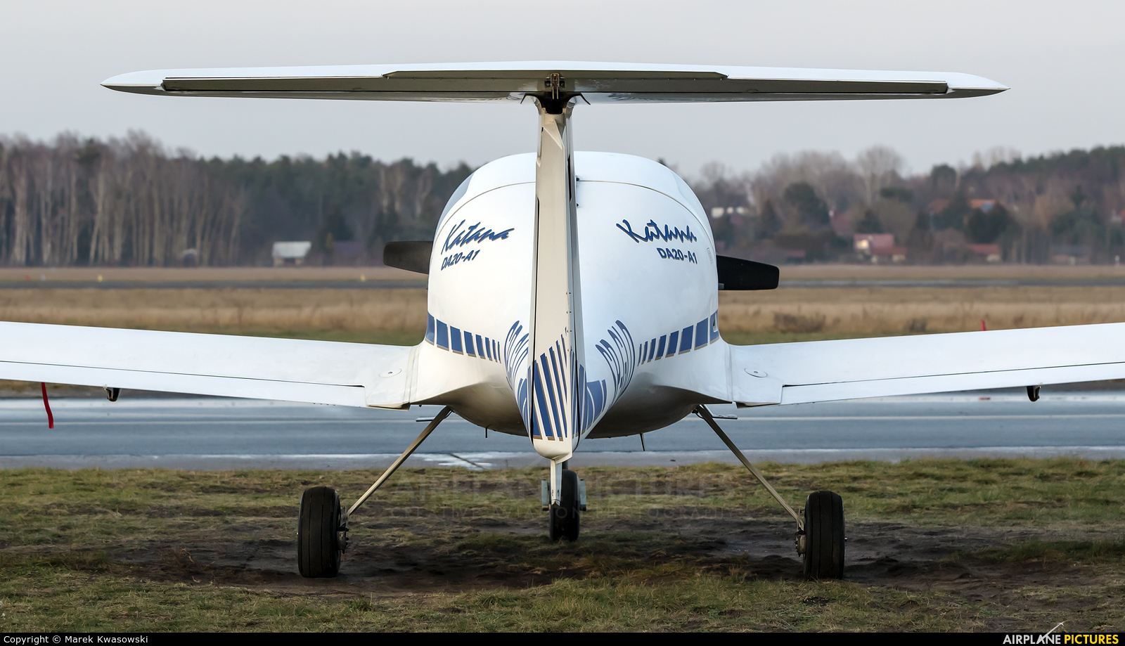 Private SP-GLD aircraft at Warsaw - Babice
