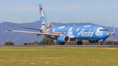 N537AS - Alaska Airlines Boeing 737-800