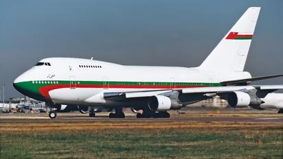 A4O-SP - Oman - Royal Flight Boeing 747SP