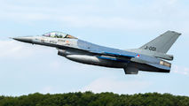 J-001 - Netherlands - Air Force General Dynamics F-16A Fighting Falcon aircraft