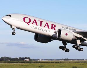 A7-BFB - Qatar Airways Cargo Boeing 777F