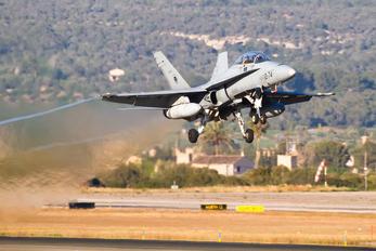 CE.15-11 - Spain - Air Force McDonnell Douglas EF-18B Hornet