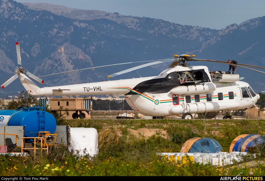 Ivory Coast - Government TU-VHL aircraft at Palma de Mallorca