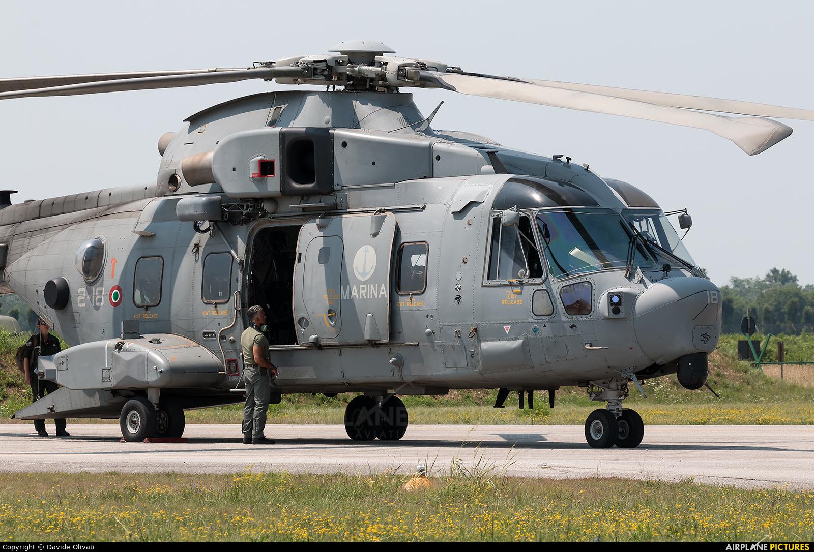 Italy - Navy MM81633 aircraft at Rivolto
