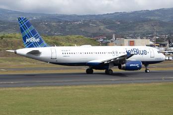 N712JB - JetBlue Airways Airbus A320