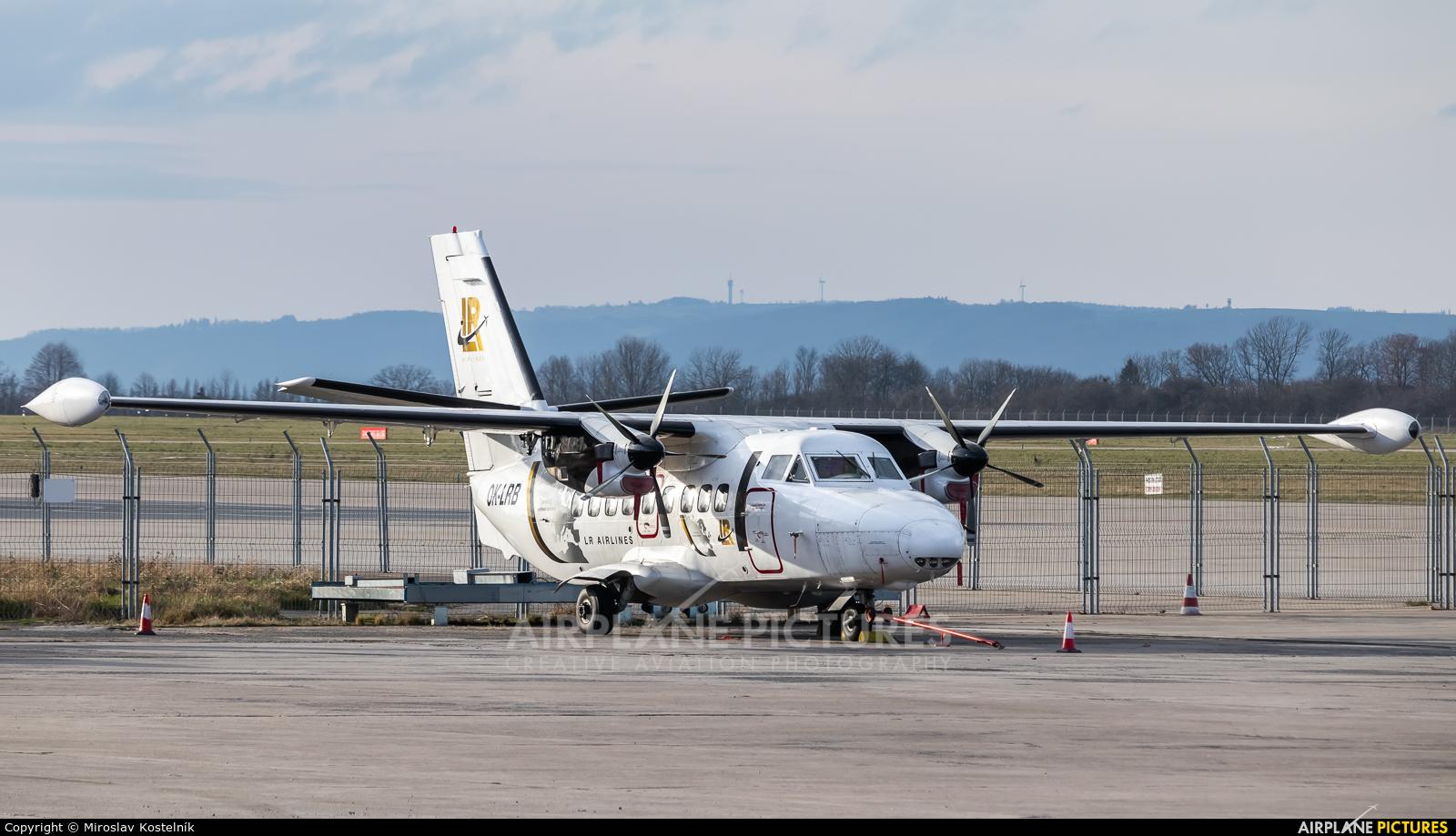 LR Airlines OK-LRB aircraft at Ostrava Mošnov