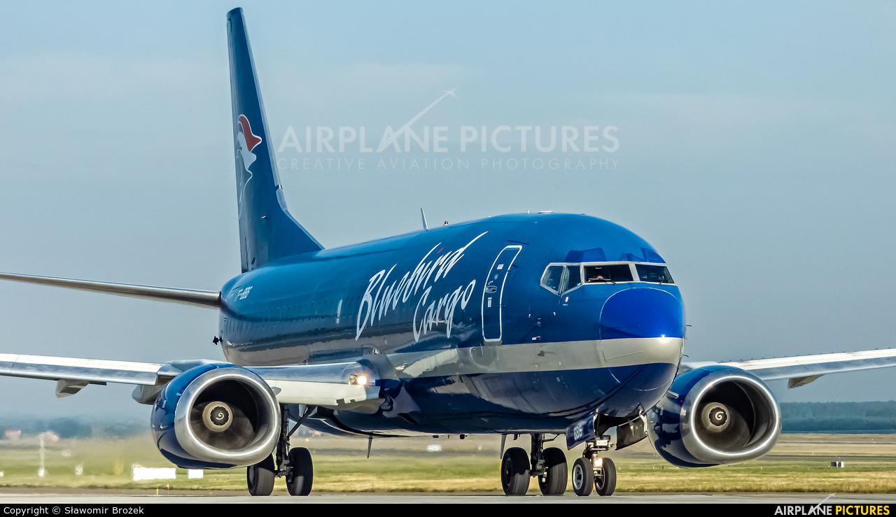 Bluebird Cargo TF-BBG aircraft at Katowice - Pyrzowice
