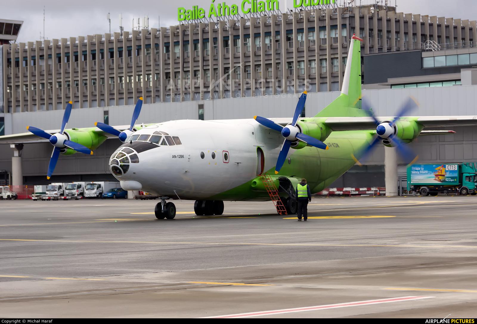 Cavok Air UR-KDM aircraft at Dublin