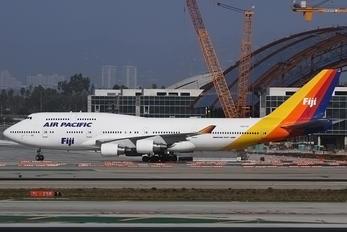 DQ-FJK - Air Pacific Boeing 747-400