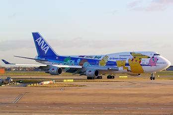 JA8962 - ANA - All Nippon Airways Boeing 747-400