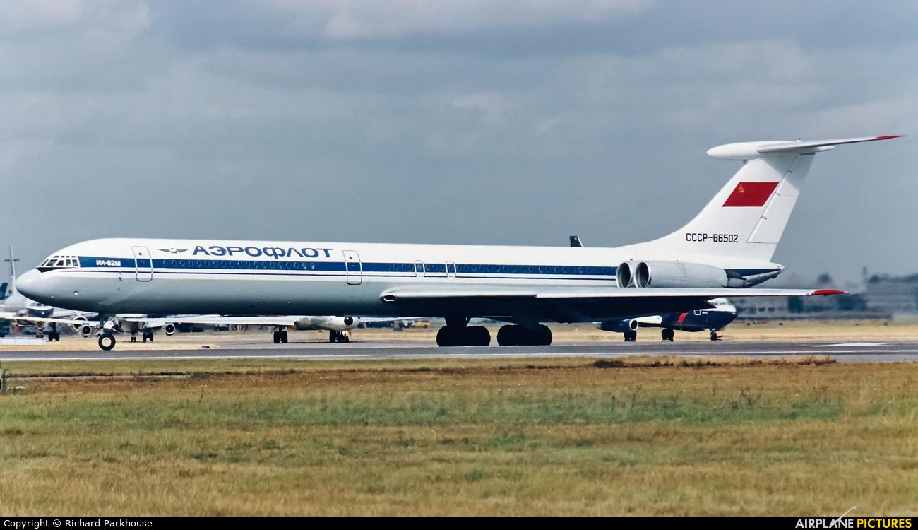 Aeroflot CCCP-86502 aircraft at London - Heathrow