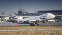 VP-BCR - Silk Way Airlines Boeing 747-400F, ERF aircraft