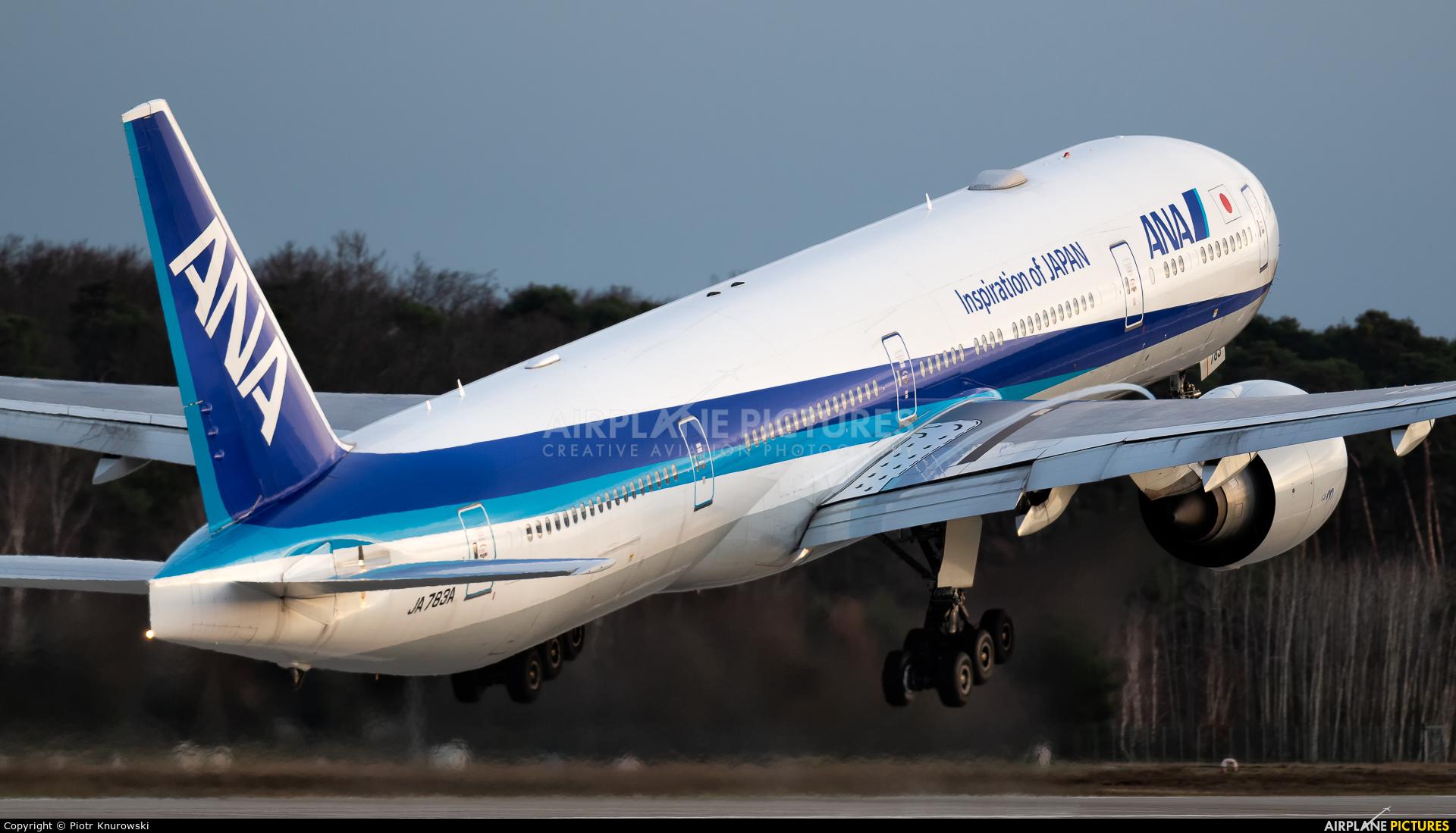 ANA - All Nippon Airways JA783A aircraft at Frankfurt