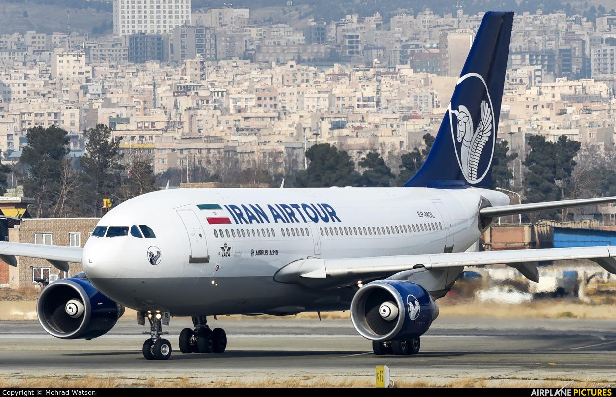 Iran Airtour EP-MDL aircraft at Tehran - Mehrabad Intl