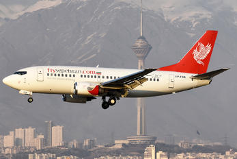 EP-FSB - Sepehran Airlines Boeing 737-500