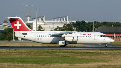 HB-IYT - Swiss British Aerospace BAe 146-300/Avro RJ100
