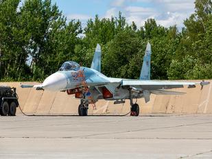 RF-33748 - Russia - Navy Sukhoi Su-27P