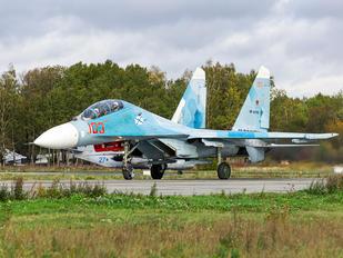 RF-33723 - Russia - Navy Sukhoi Su-27UB