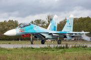 RF-33723 - Russia - Navy Sukhoi Su-27UB aircraft
