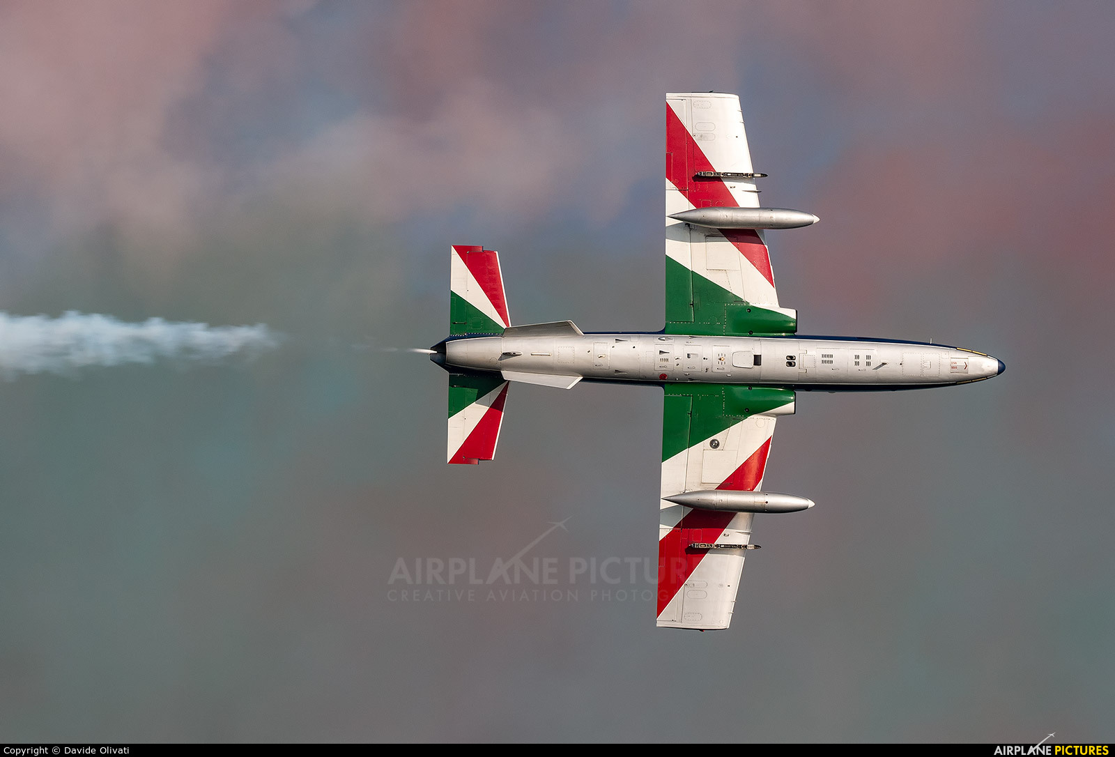 """Italy - Air Force """"Frecce Tricolori"""" MM54510 aircraft at Off Airport - Italy"""