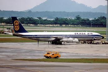5N-AOQ - Okada Air Boeing 707-300